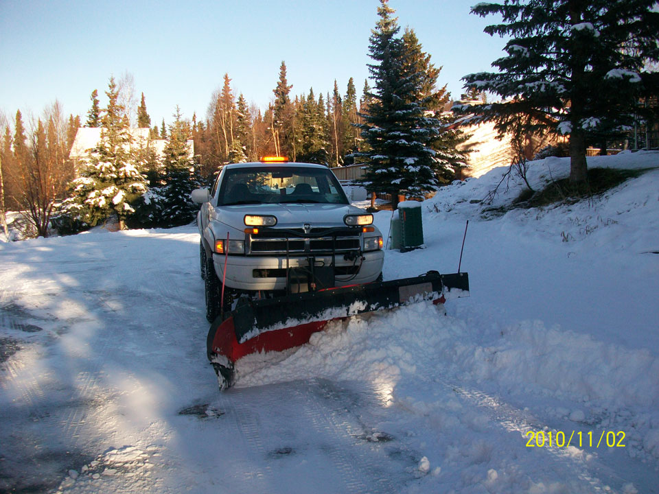 Straightline: Street Sweeping, Sealcoating and Pavement Marking in Anchorage - Gallery Item #2