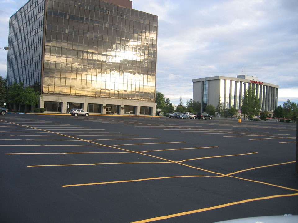 Straightline: Street Sweeping, Sealcoating and Pavement Marking in Anchorage - Gallery Item #3