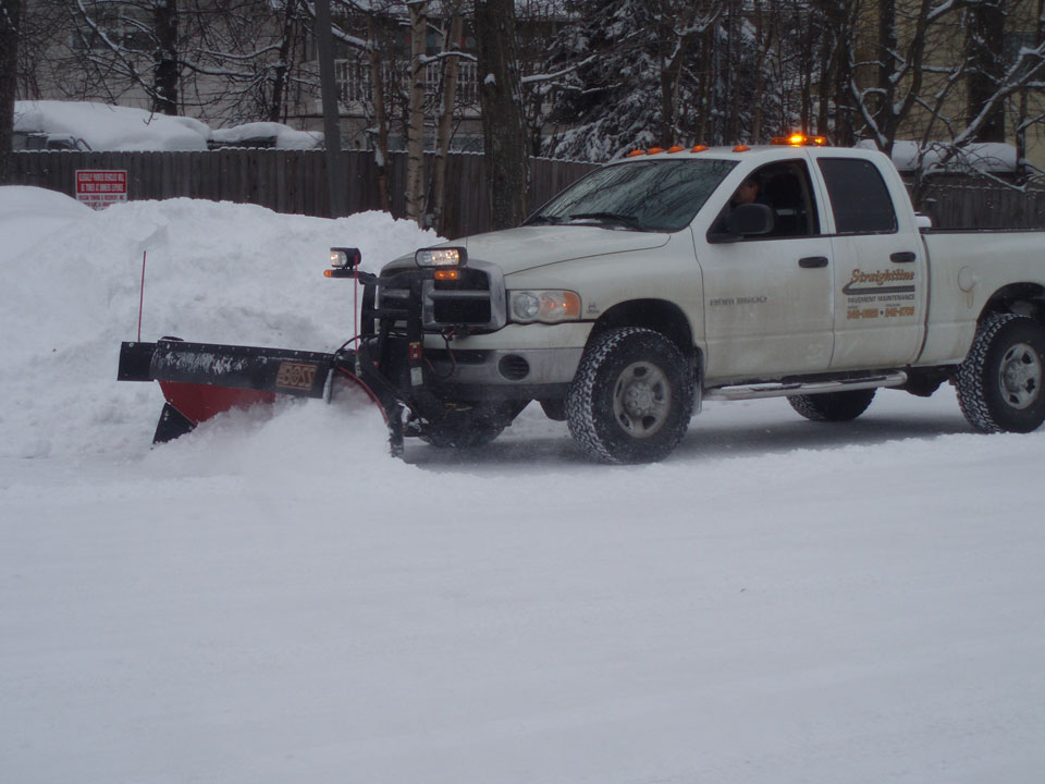 Straightline: Street Sweeping, Sealcoating and Pavement Marking in Anchorage - Gallery Item #5