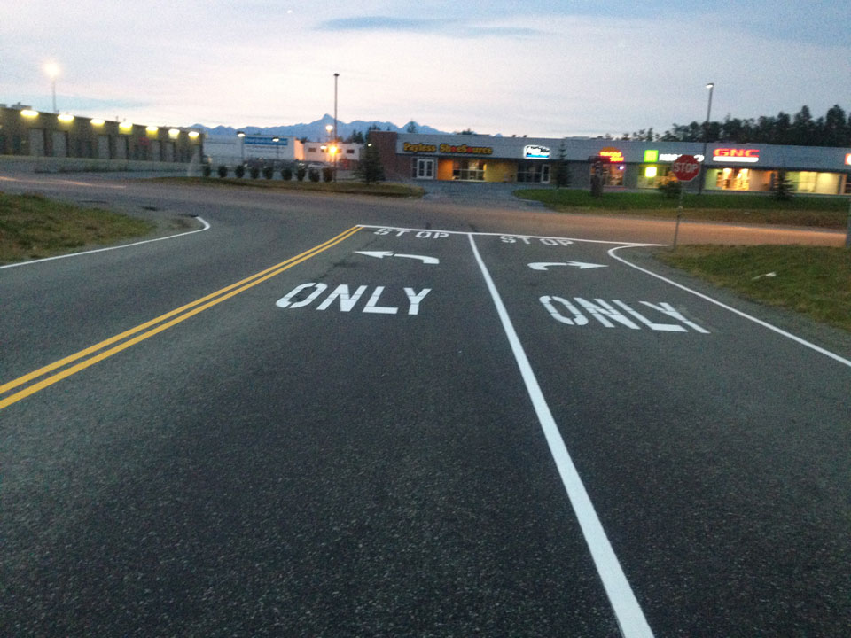 Straightline: Street Sweeping, Sealcoating and Pavement Marking in Anchorage - Gallery Item #6