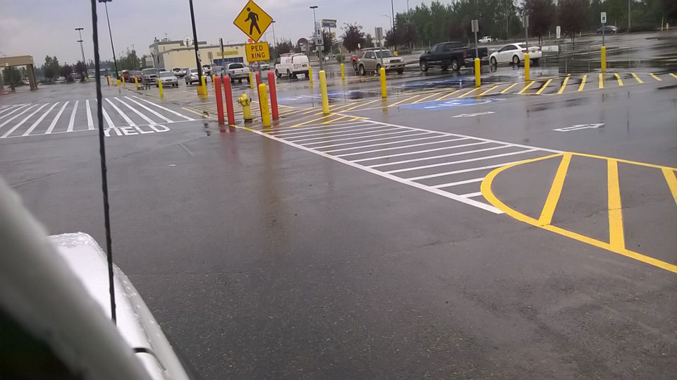 Straightline: Street Sweeping, Sealcoating and Pavement Marking in Anchorage - Gallery Item #13