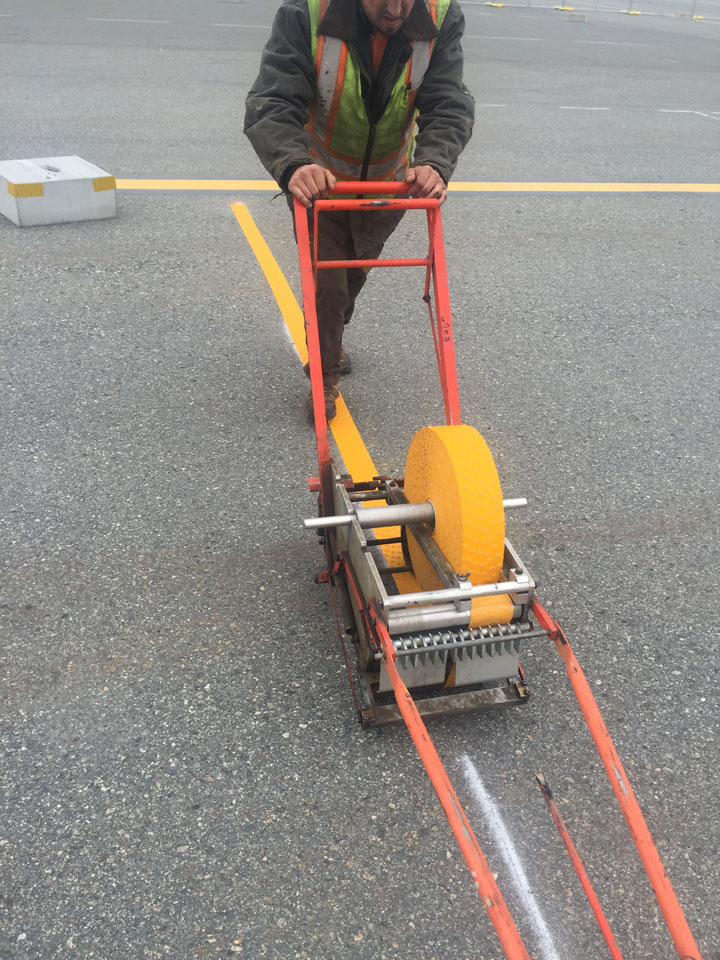 Straightline: Street Sweeping, Sealcoating and Pavement Marking in Anchorage - Gallery Item #17