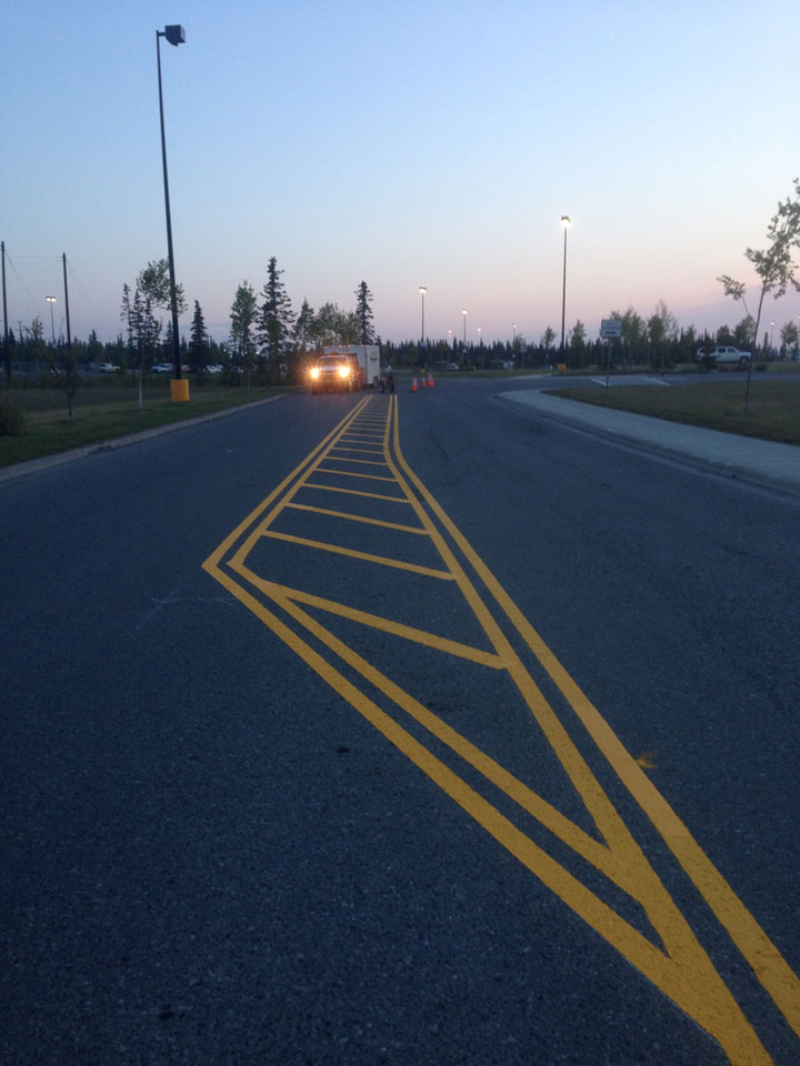 Straightline: Street Sweeping, Sealcoating and Pavement Marking in Anchorage - Gallery Item #18