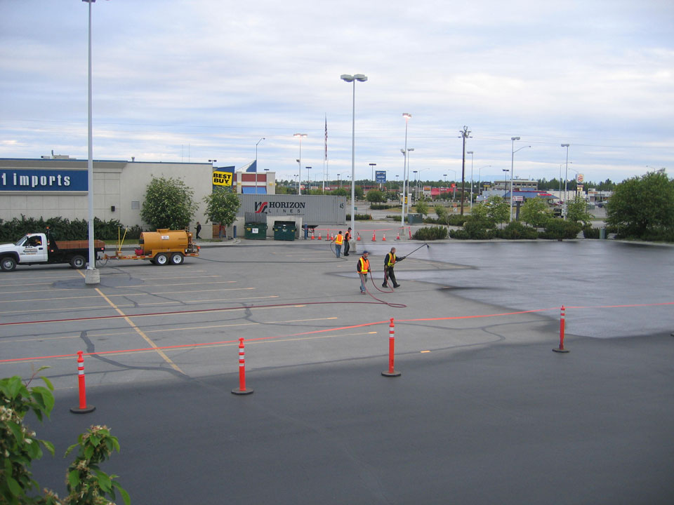 Straightline: Street Sweeping, Sealcoating and Pavement Marking in Anchorage - Gallery Item #19