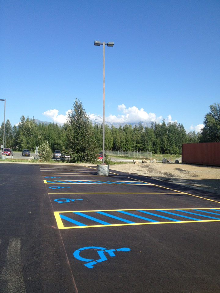 Straightline: Street Sweeping, Sealcoating and Pavement Marking in Anchorage - Gallery Item #20